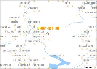 san martino italy map San Martino Italy Map Nona Net