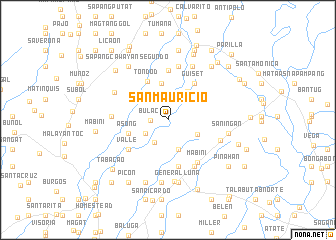 map of San Mauricio