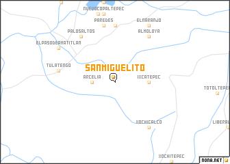 San Miguelito Mexico map nonanet
