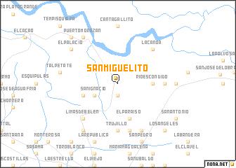 San Miguelito Nicaragua map nonanet