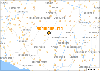 map of San Miguelito