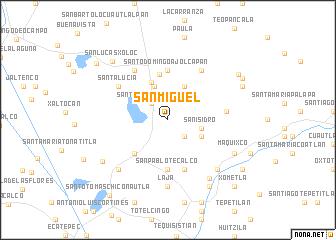 San Miguel Mexico Map Nona Net