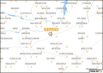map of Sanniki