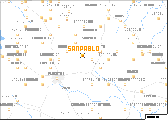 map of San Pablo