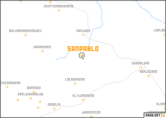 map of San Pablo