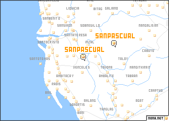 map of San Pascual