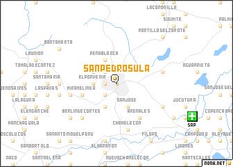 San Pedro Sula Honduras map nonanet