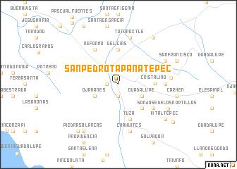 san pedro mexico map San Pedro Tapanatepec Mexico Map Nona Net