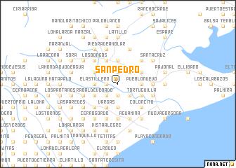 map of San Pedro