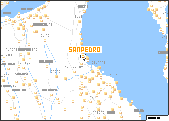 Map Of San Pedro Laguna Philippines San Pedro (Philippines) map   nona.net