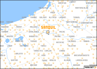 map of Sanquil