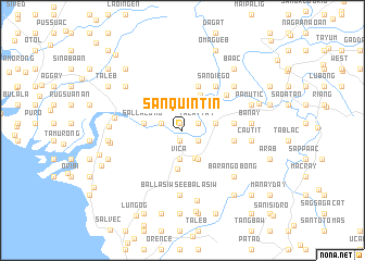 map of San Quintin