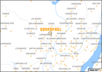 map of San Rafael