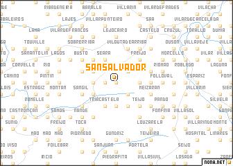 map of San Salvador