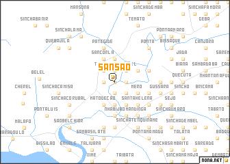 map of Sansão