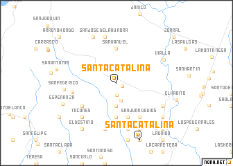 map of Santa Catalina