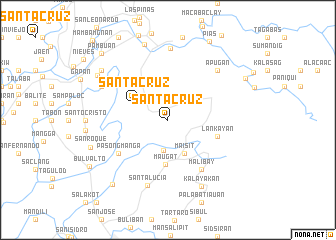 map of Santa Cruz