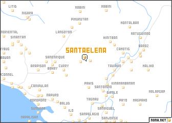 map of Santa Elena