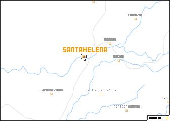 map of Santa Helena