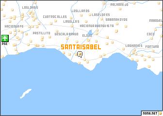 Map Of Santa Isabel