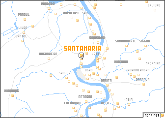 Santa Maria Philippines map nonanet