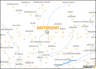 map of Sant'Andràt