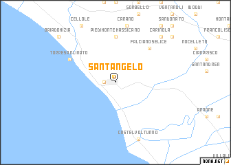 map of Sant'Angelo