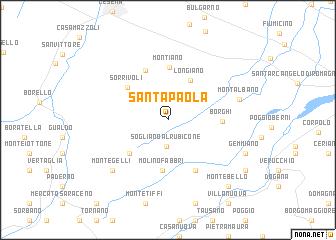 Santa Paola (Italy) map   nona.net