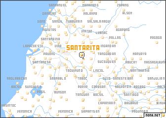 map of Santa Rita