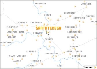 map of Santa Teresa