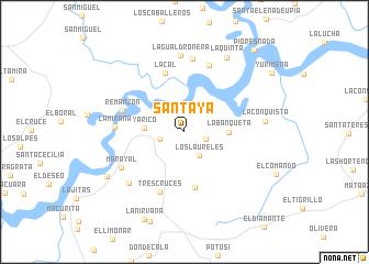 map of Santaya