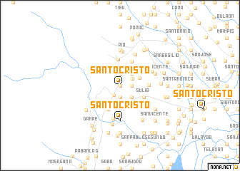 map of Santo Cristo