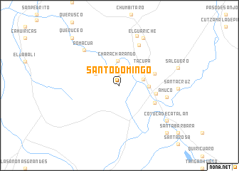 Santo Domingo (Mexico) map - nona.net on veracruz on a map, ambergris caye on a map, bogotá on a map, st. augustine on a map, kiel canal on a map, ciudad de mexico on a map, cancún on a map, windhoek on a map, sao paulo on a map, maputo on a map, bucaramanga on a map, san juan del sur on a map, mar del plata on a map, majuro on a map, san paulo on a map, calbuco on a map, hermosillo on a map, havana on a map, san pedro sula on a map, salta on a map,