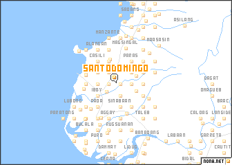 Santo Domingo Philippines map nonanet