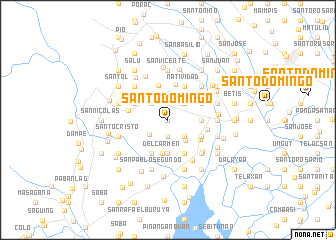 map of Santo Domingo