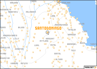 map of Santo Domingo