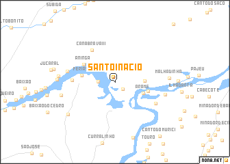 map of Santo Inácio