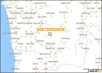 map of Santo Rosario