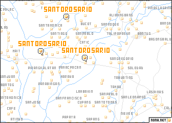 map of Santo Rosario