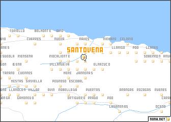 Santove 241 A Spain Map Nona Net