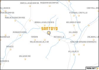map of Santoyo