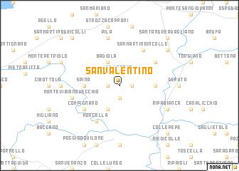 San valentino italy map for San valentino in italia