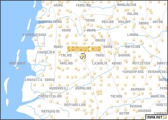 map of San-wu-chia