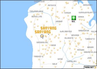 Sanyang Gambia The map nonanet