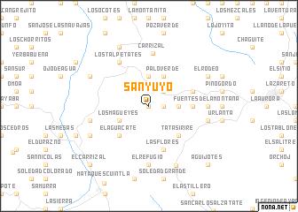 Sanyuyo Guatemala map nonanet