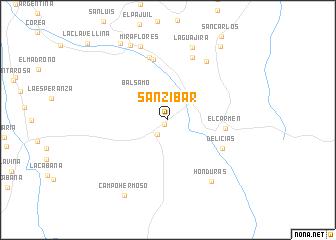 map of San Zibar