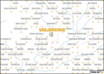 map of São Joaninho