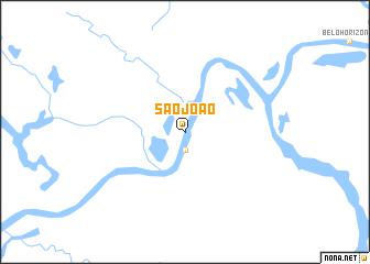 map of São João