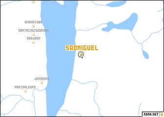 map of São Miguel