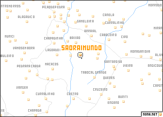 map of São Raimundo